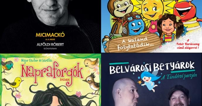 Ismerkedj meg az év hazai gyermek albuma vagy hangfelvétele kategória jelöltjeivel!
