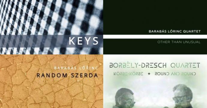 Hallgasd meg itt az év hazai jazz albuma vagy hangfelvétele kategória díjának jelöltjeit!