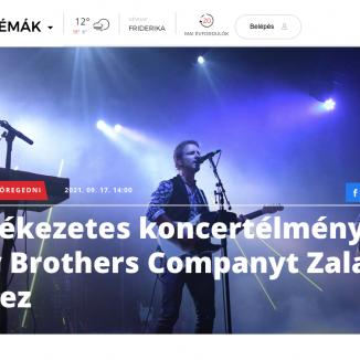 Bagossy Brothers Company-interjú a zaol.hu oldalán