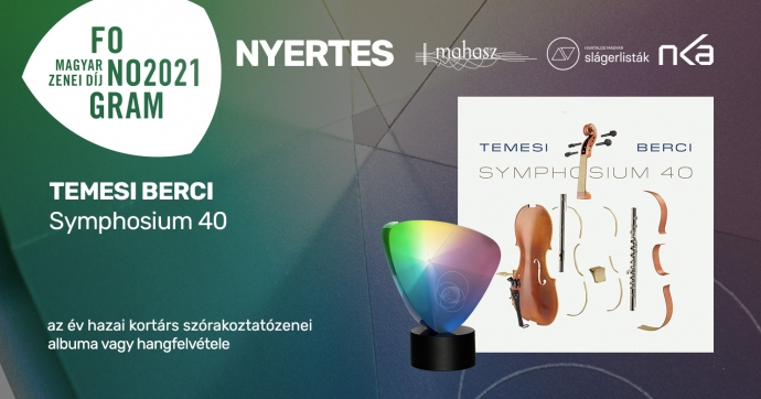 Temesi Berci győzedelmeskedett a hazai kortárs szórakoztatózenei kategóriában!