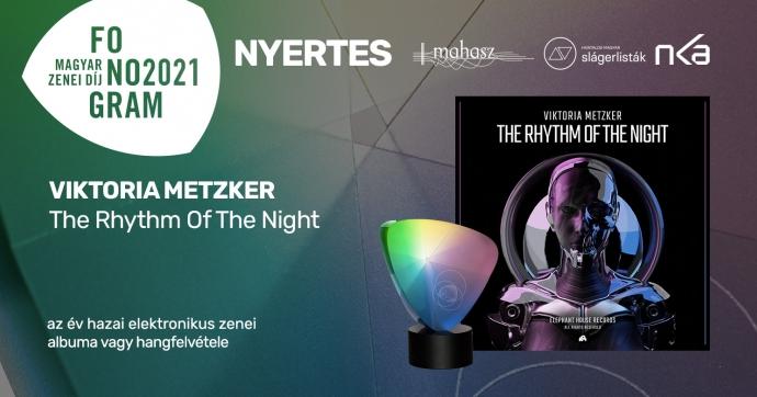 Metzker Viktória nyerte az év hazai elektronikus zenei albuma vagy hangfelvétele Fonogram-díjat!