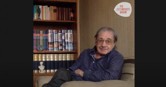 A szakmai életműdíjas Hajnal Gábor háromrészes életútinterjút adott a Kossuth Rádión